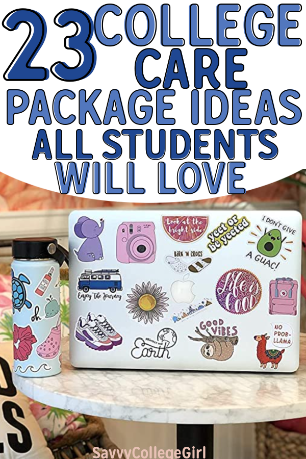 Amazing and fun gifts for college students. These college care package ideas are great for students of all ages, from freshman to senior year. Send a great college care package to your loved ones #Carepackageideas #carecpackage #giftideas #snailmail #giftideasforboyfriend #college #giftideasforcollege #collegegiftideas