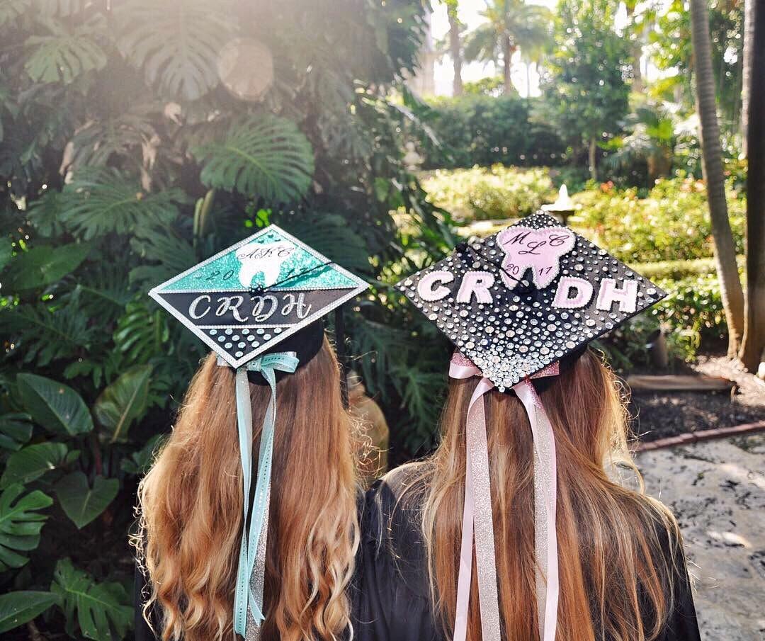 How To Decorate A Graduation Cap Without Ruining It - beautiful Graduation Cap Inspo