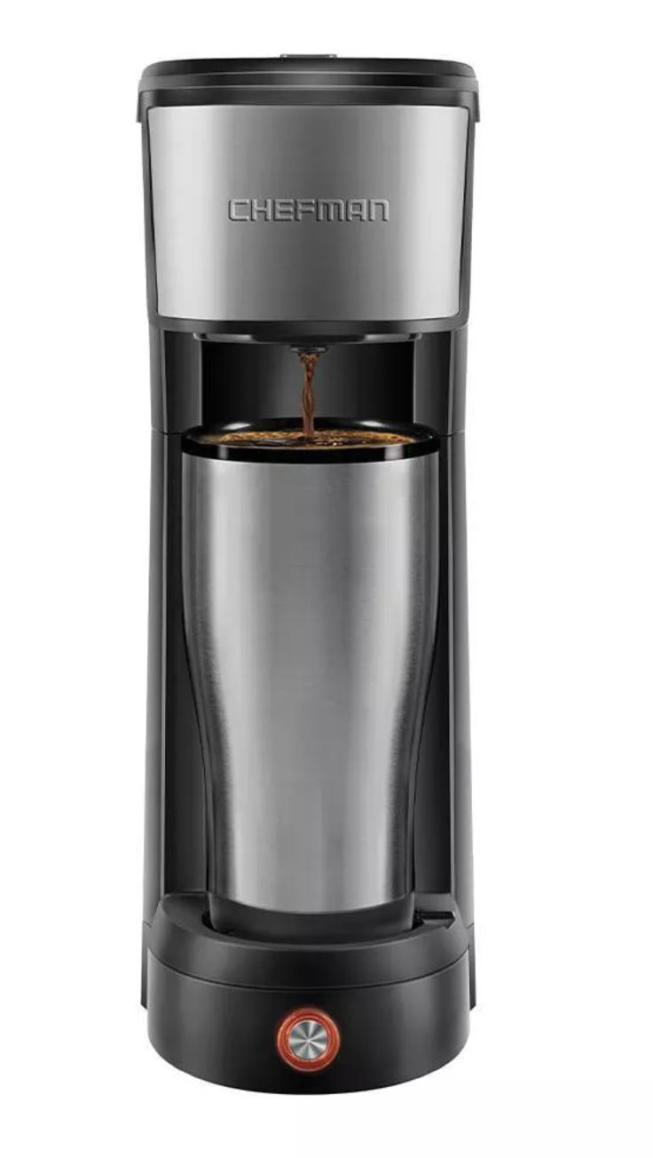 Chefman InstaCoffee Single-Serve K-Cup Coffee Maker
