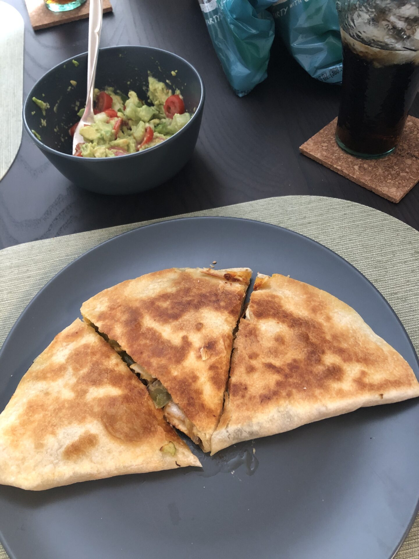 A quesadilla is delicious and so easy to whip up