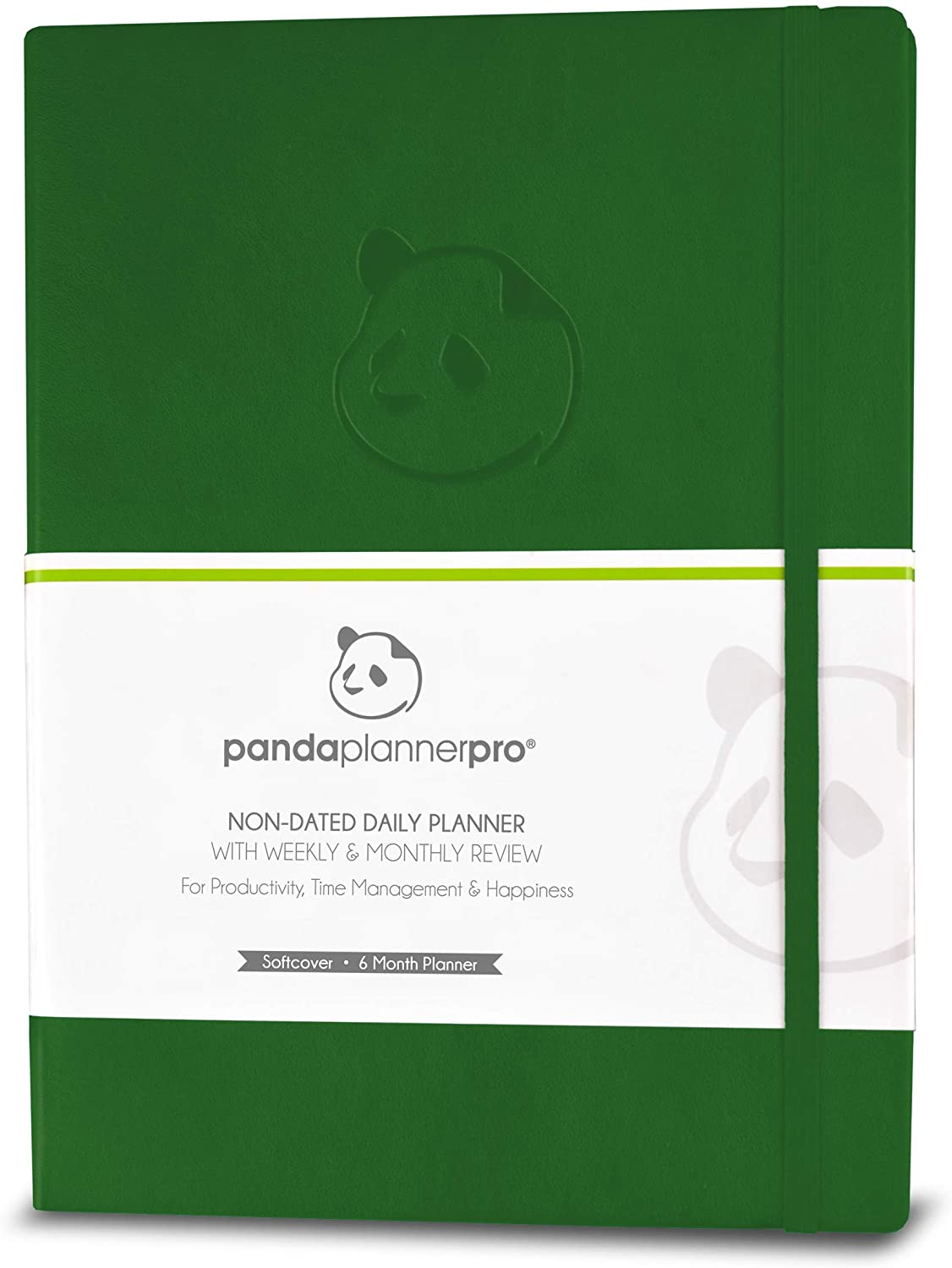 Softcover Undated Day Pro Planner - Best Daily Planner for Happiness & Productivity