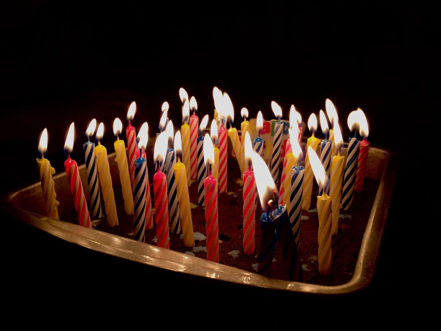 Best gift ideas for 22nd birthday for him with cake and birthday candles